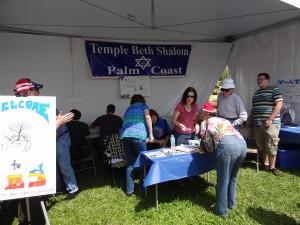 TBS Palm Coast Booth